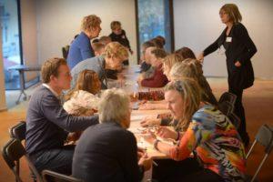 Tijdens de meet en greet bijeenkomst van de Participatieraad Zwolle, maakten we kennis met partners in de stad.